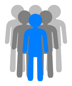 people, group, silhouette
